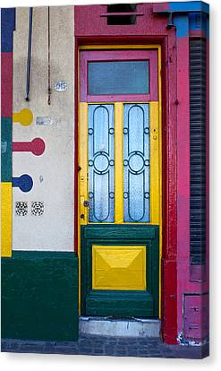 Doors Of San Telmo, Argentina Canvas Print