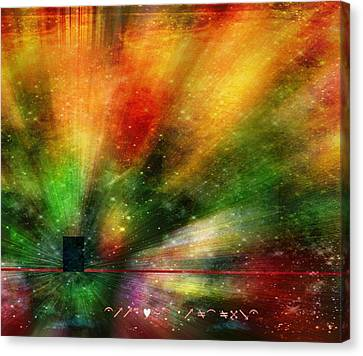 Canvas Print featuring the photograph Doorway To My Mind by Diane Alexander