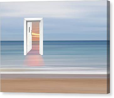 Doorway To The Future Canvas Print by Gill Billington
