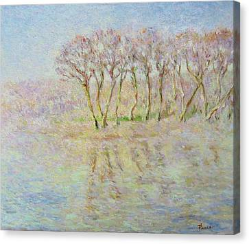 Dordogne, Beynac Et Cazenac Canvas Print by Pierre Van Dijk