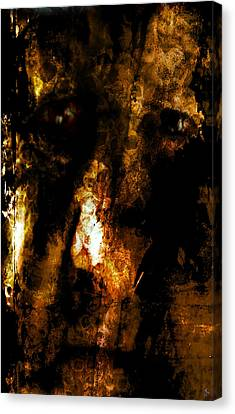 Canvas Print featuring the photograph Dorian Gray by Ken Walker