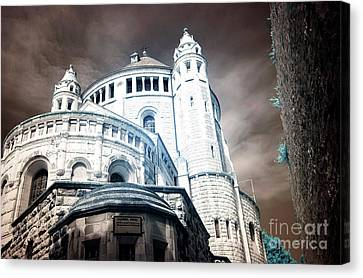Dormition Abbey Canvas Print by John Rizzuto