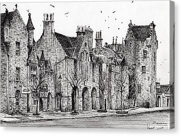 Dornoch Canvas Print by Vincent Alexander Booth