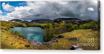 Dorothea Quarry Panorama Canvas Print by Adrian Evans