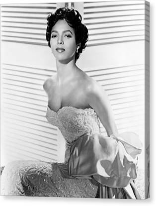1950s Portraits Canvas Print - Dorothy Dandridge, Ca. 1950s by Everett