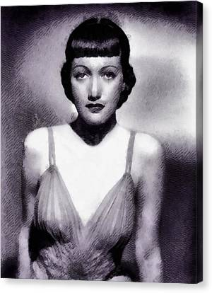 Dorothy Lamour, Actress Canvas Print by John Springfield