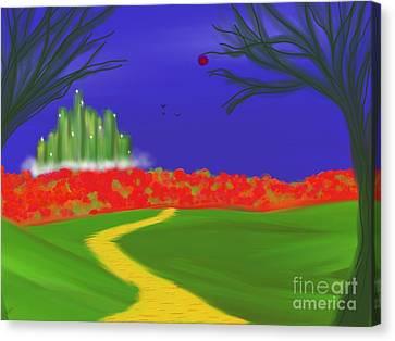Dorothy's Dream Canvas Print by Roxy Riou