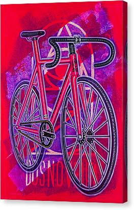 Dosnoventa Houston Flo Pink Canvas Print by Mark Jones