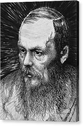 Dostoyevsky Canvas Print