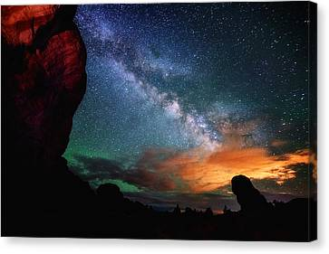 Double Arch View Canvas Print by Darren  White