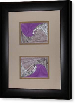 Artisan Canvas Print - Double Dip by Ron Davidson