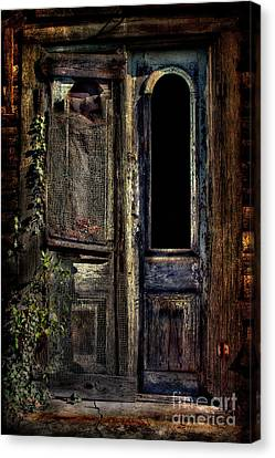 Double Door Canvas Print by Sari Sauls