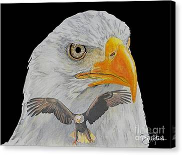 Double Eagle Canvas Print by Bill Richards