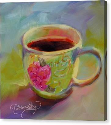 Double Espresso, Please Canvas Print by Chris Brandley
