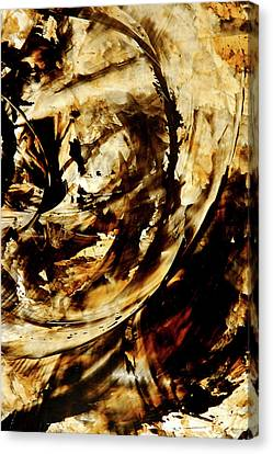Double Espresso Canvas Print by Sharon Cummings