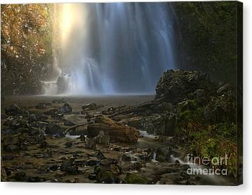 Falling Water Creek Canvas Print - Double Falls Creek by Adam Jewell
