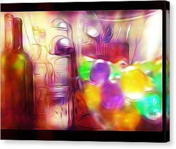 Double Kitchen Vision Canvas Print by Howard Roberts