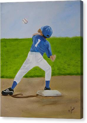 Double Play Canvas Print