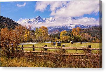 Double Rl Ranch Canvas Print