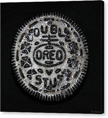 Double Stuff Oreo Canvas Print by Rob Hans