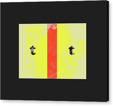 Double T Canvas Print by Robert Frank Gabriel