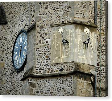 St Botolph St Canvas Print - Double Time by Jean Noren