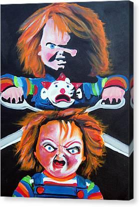 Double Trouble  Canvas Print by Ottoniel Lima