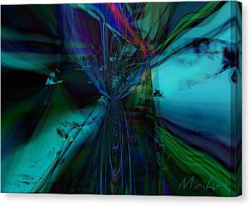 Double Vision Canvas Print