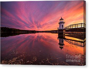Doubling Point Sunset Canvas Print