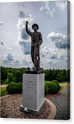 Doughboy Remembered Canvas Print by Michael Horst