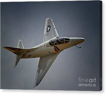 Douglas A4 Skyhawk 2011 Chino Planes Of Fame Air Showe Canvas Print