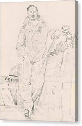 Douglas Bader Canvas Print - Douglas Bader by Dennis Larson
