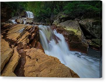Douglas Falls Canvas Print by Michael Donahue