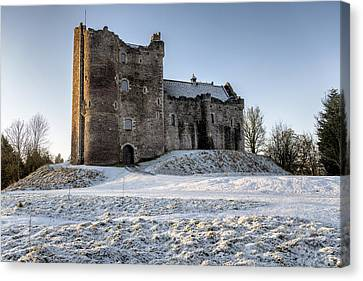 Doune Castle In Central Scotland Canvas Print