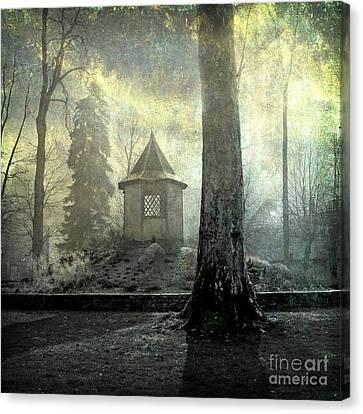 Shed Canvas Print - Dovecote by Bernard Jaubert