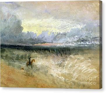 Dover  Canvas Print by Joseph Mallord William Turner