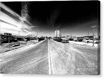 Canvas Print - Down Asbury Avenue by John Rizzuto