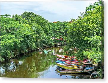 Down By The River Canvas Print