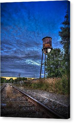 Down By The Tracks Canvas Print by Marvin Spates
