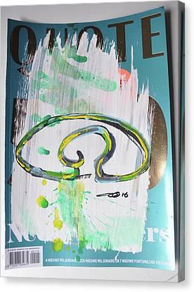 Down The Drain A Canvas Print by Eduard Meinema