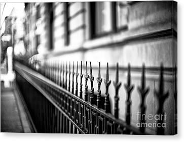 Down The Line On 8th Avenue Canvas Print by John Rizzuto