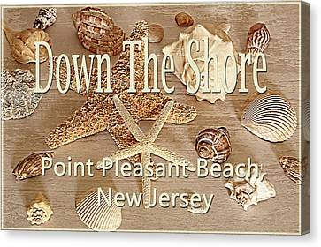 Down The Shore - Point Pleasant Beach, New Jersey Canvas Print