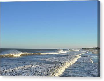 Down The Shore Seaside Heights Jersey Shore Canvas Print by Terry DeLuco