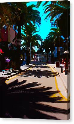 Down Town Surfer's Paradise Canvas Print by Susan Vineyard
