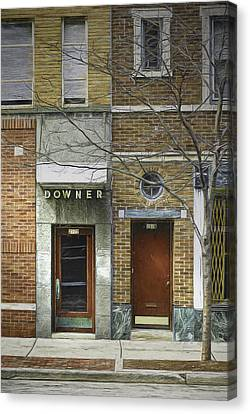 Downer Canvas Print
