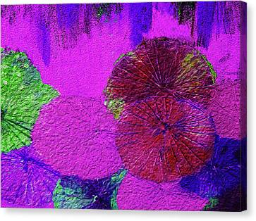 Downpour 4 Canvas Print by Bruce Iorio