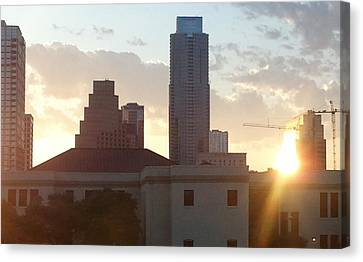 Downtown Austin Canvas Print