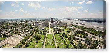Downtown Baton Rouge Canvas Print