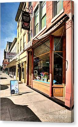 Downtown Brookville Indiana # 2 Canvas Print