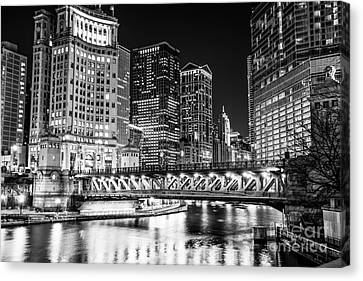 Chicago River Canvas Print - Downtown Chicago Michigan Avenue Bridge Picture by Paul Velgos